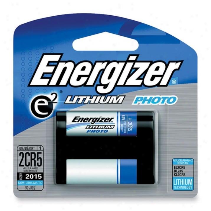 Eveready E2 Lithium Digital Camera Battery