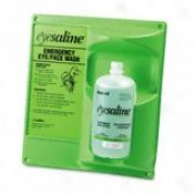 Eyesaline Single Eye Wash Station, 13w X 4-1/2d X 14h, 8/carotn
