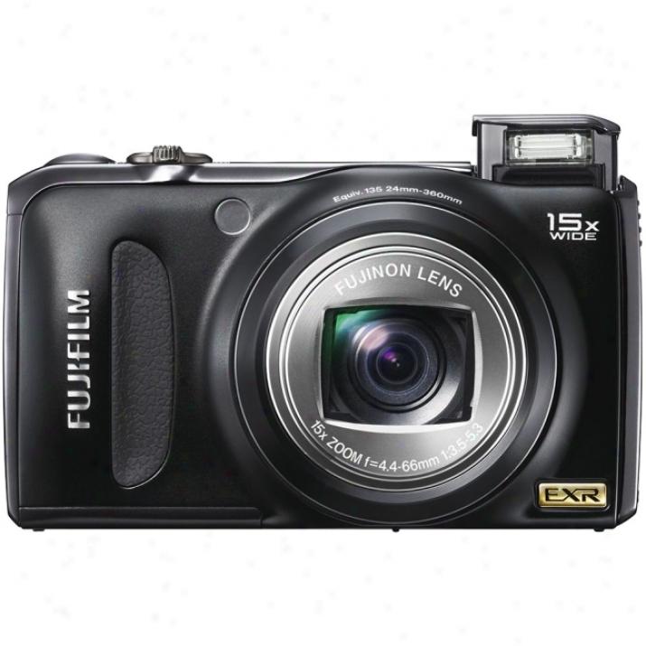 Fujifilm Finepix F300exr 12 Megapixel Compact Cameda - 4.40 Mm-66 Mm - Black