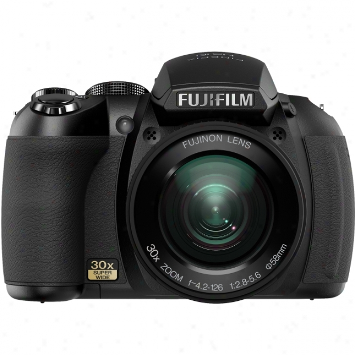 Fujifilm Finepix Hs10 10.3 Megapixel Bridge Camera - 4.20 Mm-126 Mm - Black