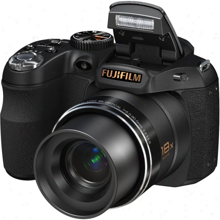 Fujifilm Fijepix S2800hd 14 Megapixel Bridge Camera - 5 Mm-90 Mm - Black