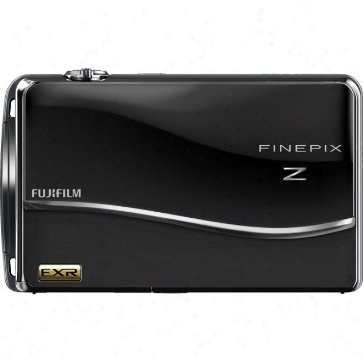 Fujifilm Finepix Z800exr 12 Megapixel Compact Camera - 6.40 Mm-32 Mm - Black