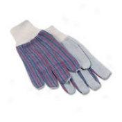 Galaxy Men's Palm Gloves With Knit Wrist