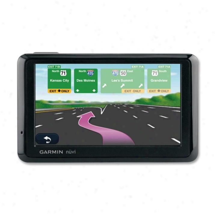 Garmin Nuvi 1390tlmu Automobile Portable Gps
