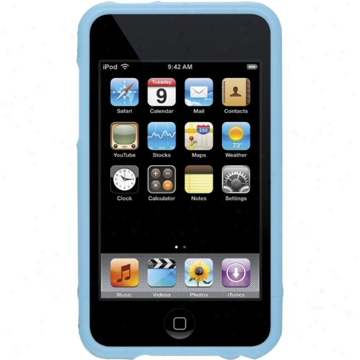 Griffiin Elan Form Case For Ipod Touch 2g With Blue Trim