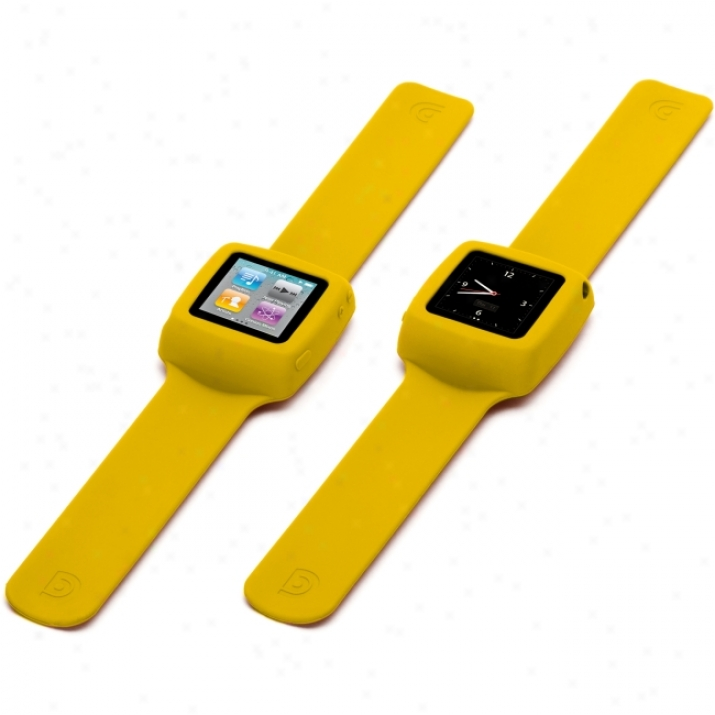 Griffin Slap Gb02196 Carrying Case For Ipod - Yellow