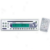 In-dash Am/fm-mpx Marine Cd Player Attending Full Face Detachable Panel