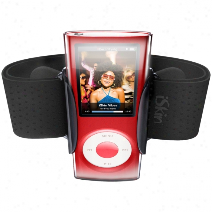 Iskin Duoband Digital Player Case - Armband - Silicon - Clear