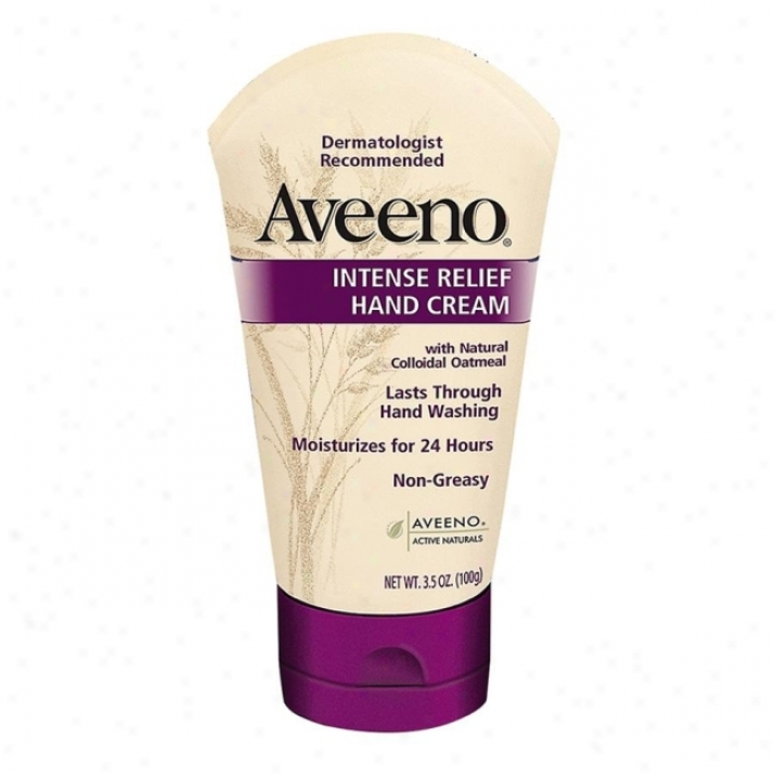 Johnson&johnson Aveeno Intense Relief Hand Cream