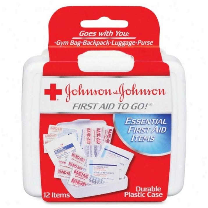 Johnson&johnson Mini First Aid Kit