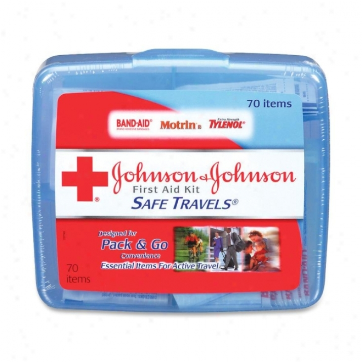 Johnson&johnson Safe Travels Firdt Aid Kit