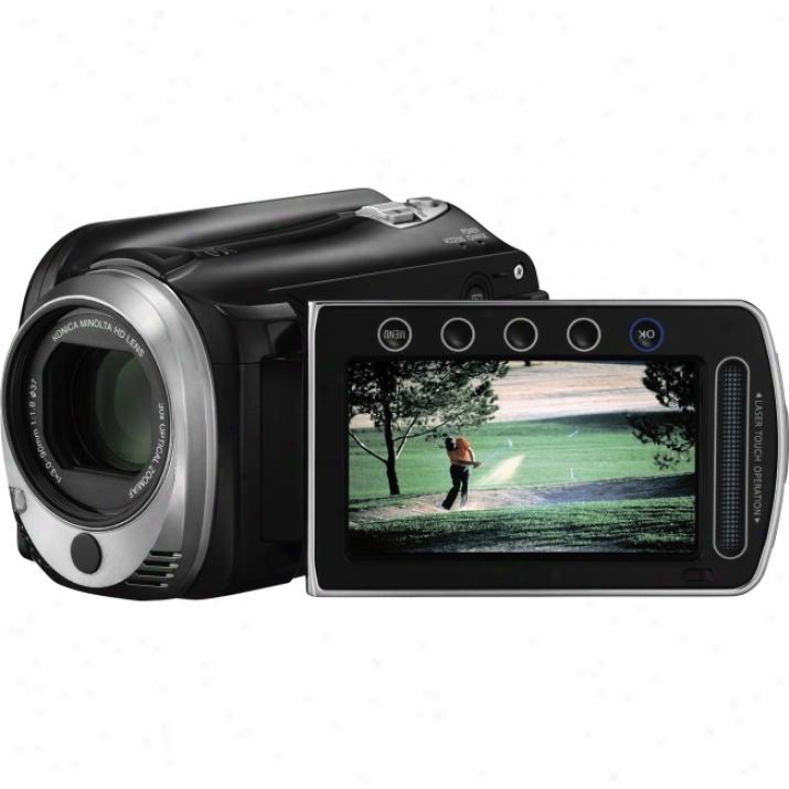 "Jvc Everio Gz-hd620 Digital Camcorder - 2.7"" Lcd - Cmos-  Black"