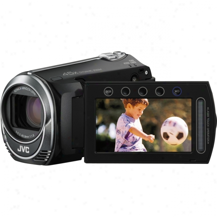 "Jvc Everio Gz-ms230 Digital Camcorder - 2.7"" Lcd - Ccd - Black"