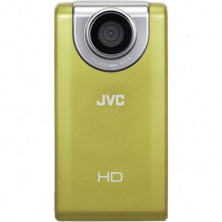 "Jvc Picsio Gc-fm2 Digital Camcorder - 3"" Lcd - Touchscreen - Cmos - Yellow"