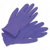 Kimberly-clark Safeskin Nitrile Exam Gloves - Medium Size - Powder-free, Latex-free - 100 / Box - Purple