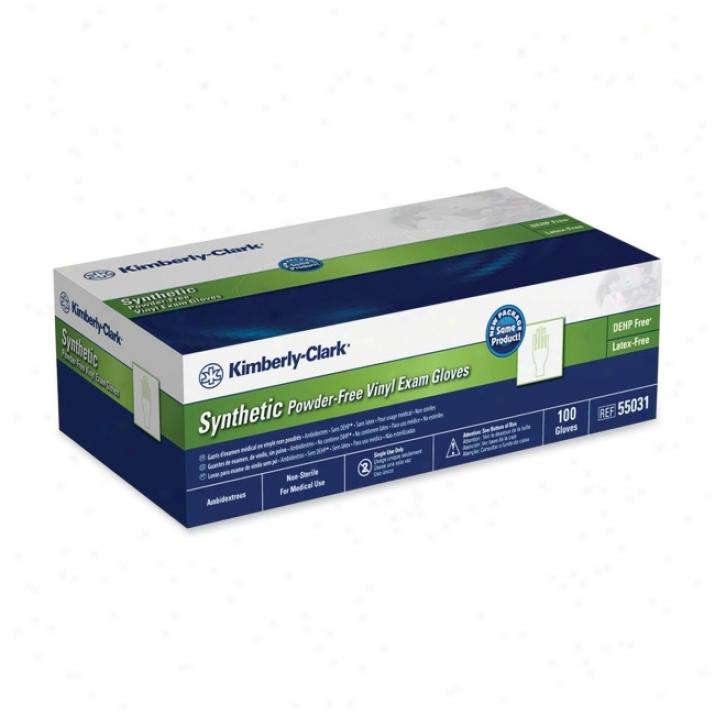Kimberly-clark Safeskin Powder-free Exam Gloves