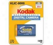Kodak Klic-8000 Lithium Ion Digital Camera Battery