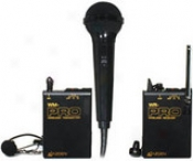 Lavaliere System With Hand-held Microphone