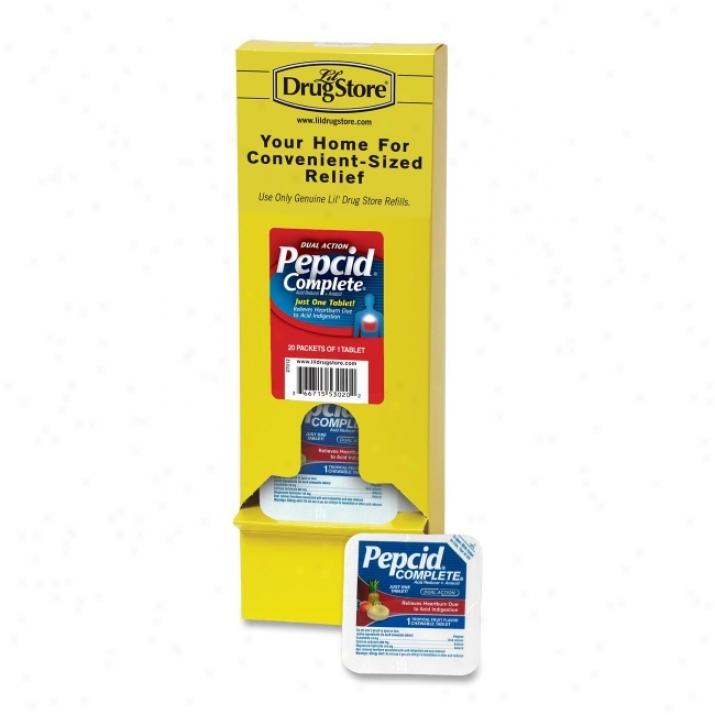 Lil' Drug Store Single Dose Pepcid Complete