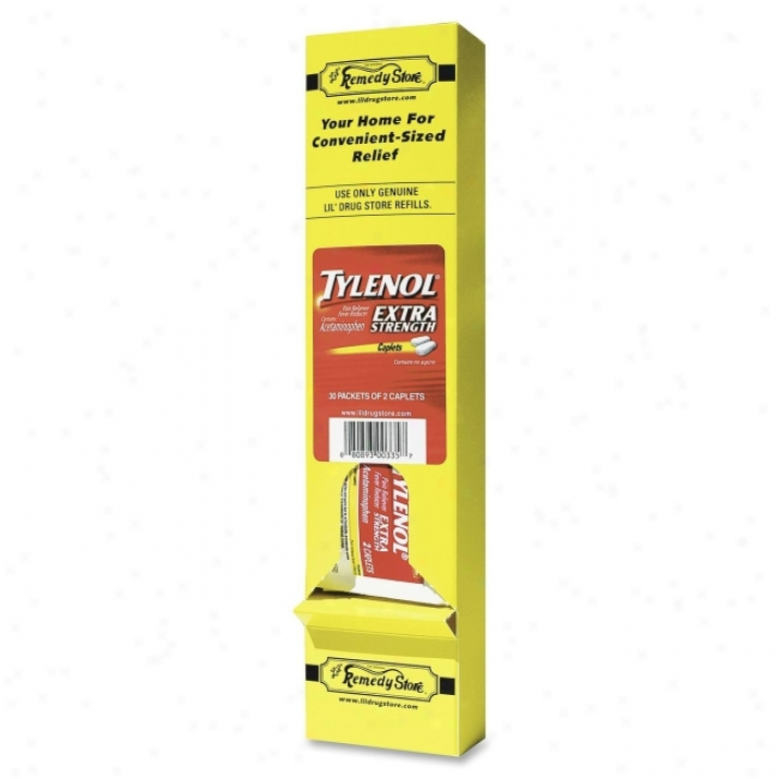 Lil' Drug Store Tylenol Extra Strength Tablets