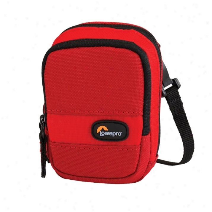 Lowepro Spectrum 10 Carrying Case For Camera - Red, Chili Red