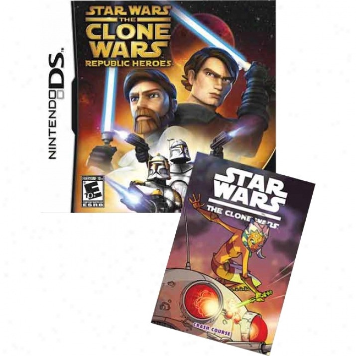 Lucasarts Star Wars Th3 Clone Wars: Commonwealth Heroes