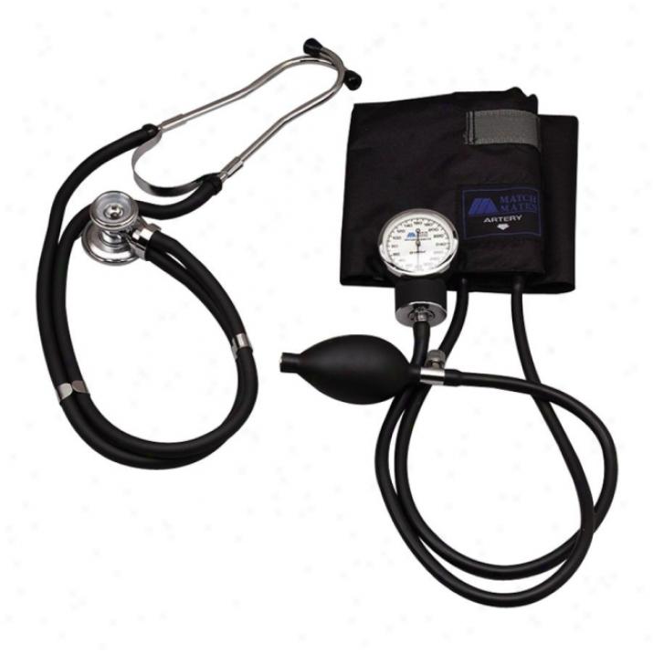 Mabis Matchmate Blood Pressure Unit Stethoscope