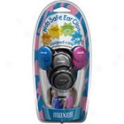 Maxell Kids Safe Khp-1 Earphone - Stereo