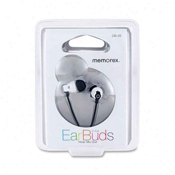 Memorex Cb25 Stereo Earphone