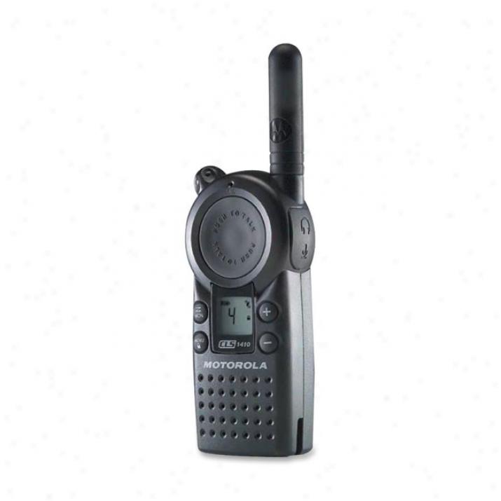 Motorola Cls1410 Portable Business Two-way Radio