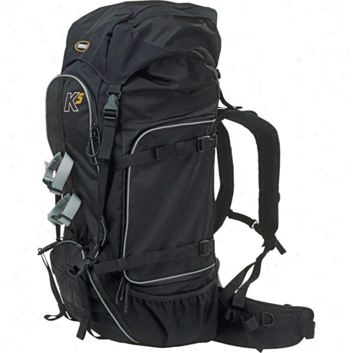 Naneu Pro Adventure K5 Multi Purpose Case - Backpack - Polyurethane - Black