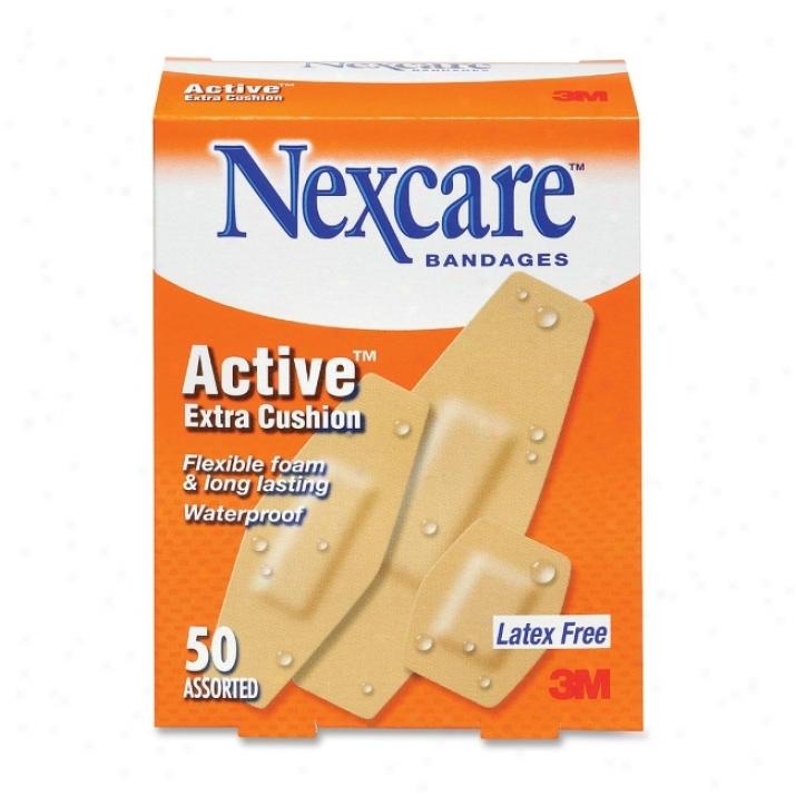 Nexcare Cushion Bandage