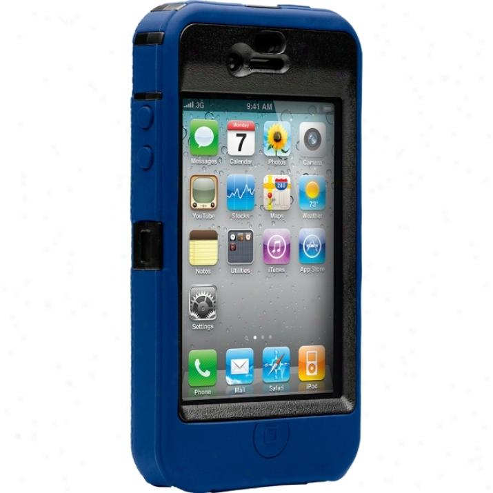 Otterbox Defender Apl2-i4xxx Smartphone Case - Silicon, Polycarbonate - Red