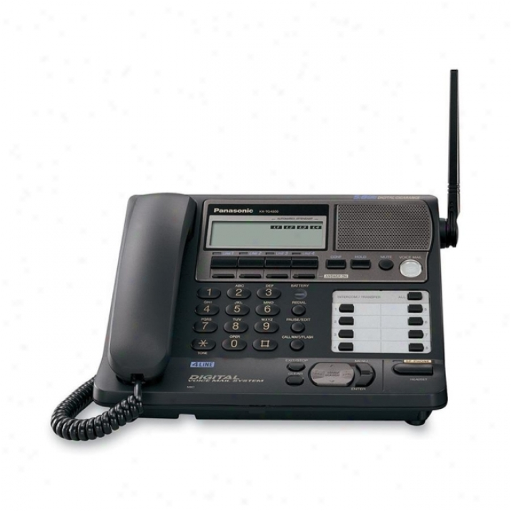 Panasonic Kx-tg4500b Corded/cordless Telephone