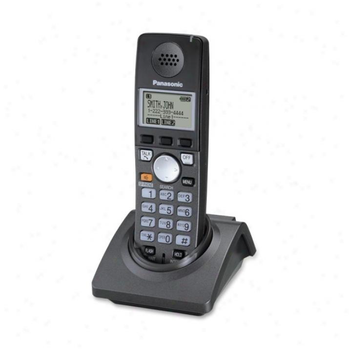 Panasonic Kx-tga670b Cordless Phone Handset