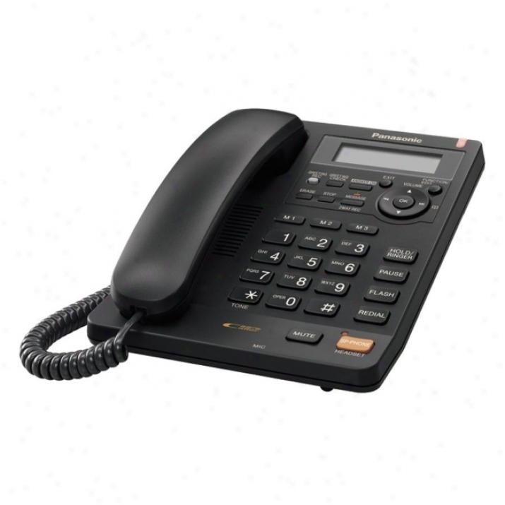 Panasonic Kx-ts620b Basic Telephone
