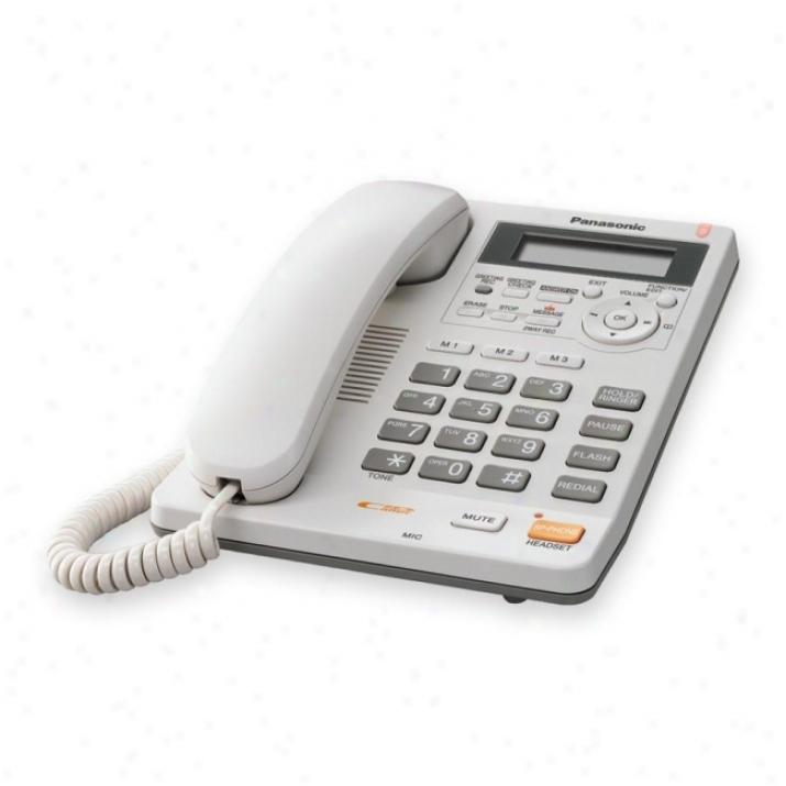 Panasonic Kx-ts620w Basic Telephone