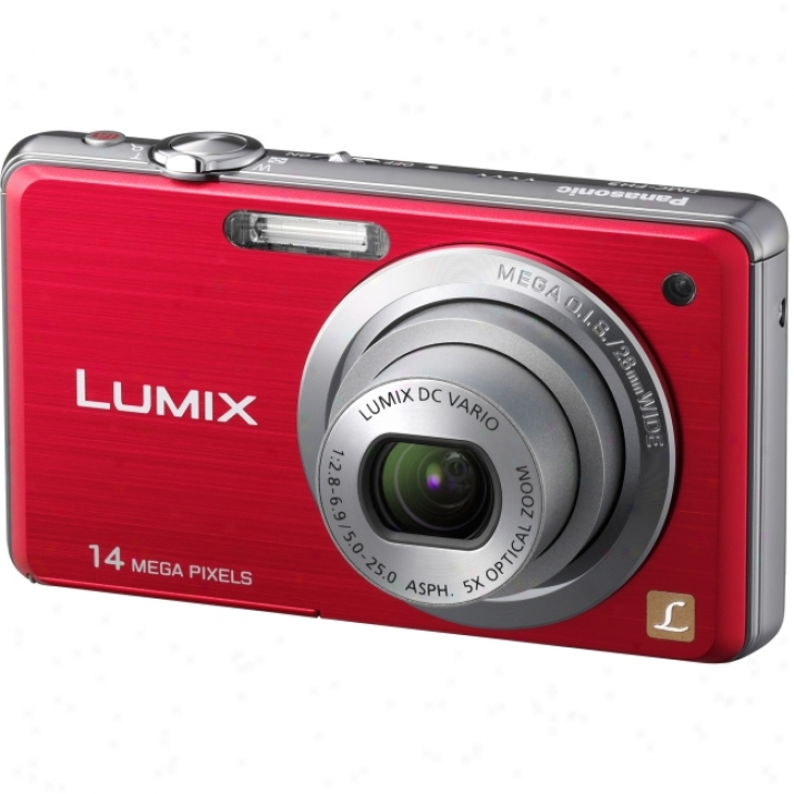 Panasonic Lumix Dmc-fh3 14.1 Megapixel Compact Camera - 5 Mm-25 Mm - Black