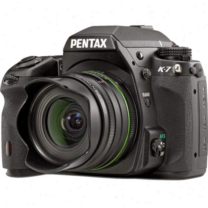 Pentax K-7 Digital Sl Camera - Wicked