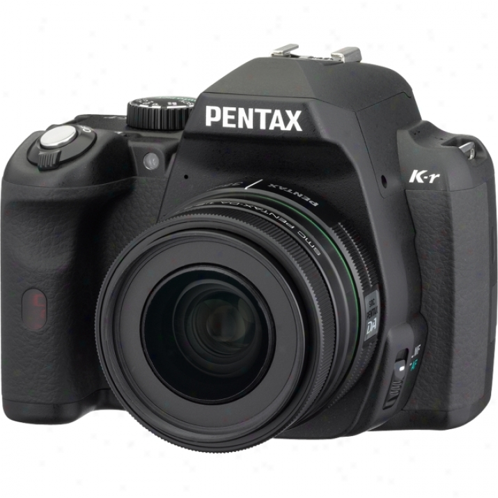 Pentax K-r 12.4 Megapixel Digital Slr Camera (body With Lens Kit) - 18 Mm-55 Mm - Black