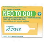 Pfizer Neosporin Medication Compress