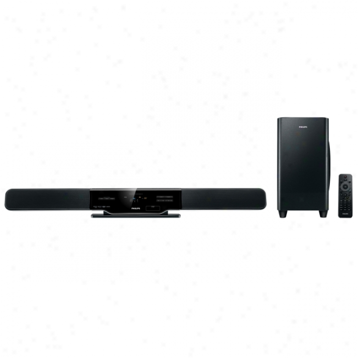 Philips Hsb2313 300 W 2.1 Home Theater System