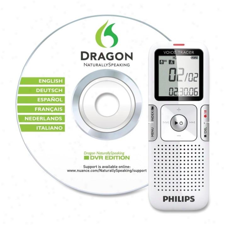 Philips Lfh0617 Digital Voice Recorder