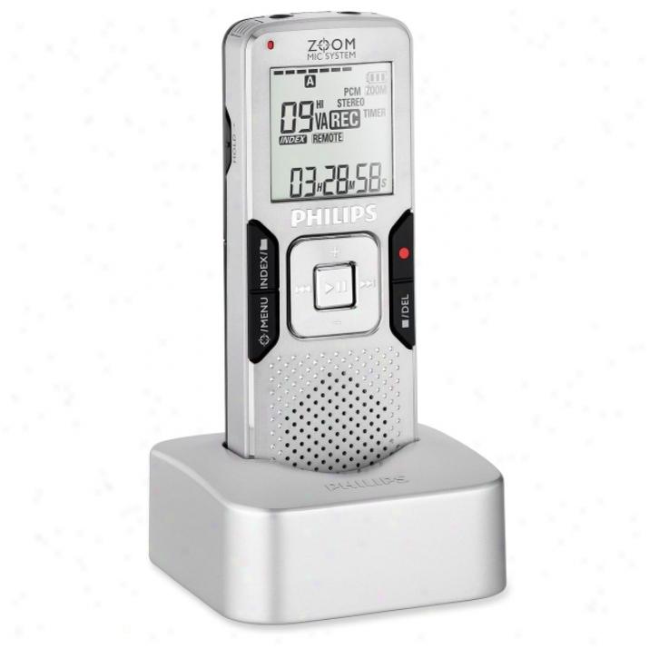 Philips Lfh0888 4gb Digital Voice Recorder