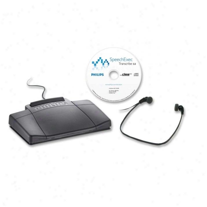 Philips Speech Digital Transcription Kit