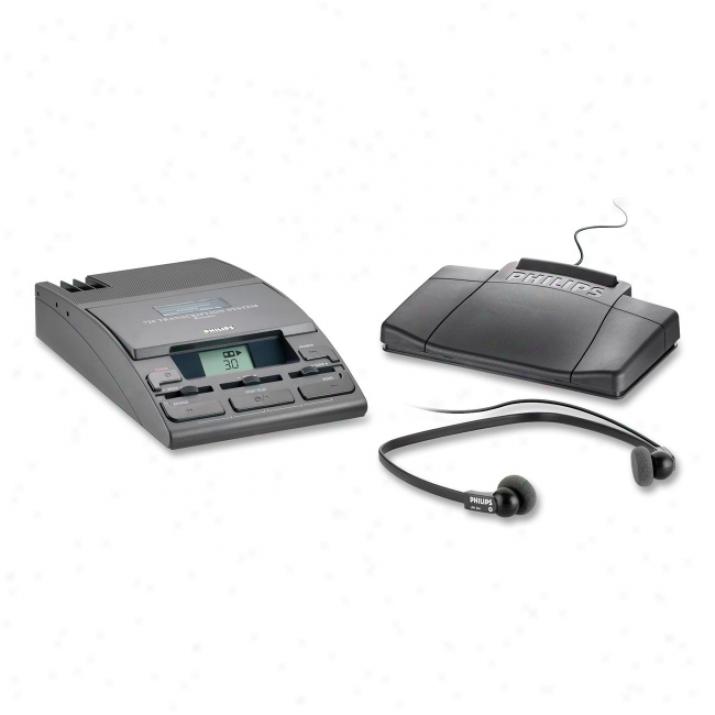 Philips Speech Mini Cassette Transcription System