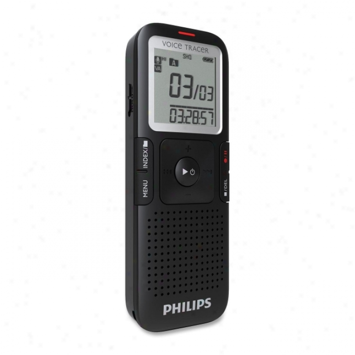 Philips Voice Tracer Lfh0632 Digital Voice Registrar
