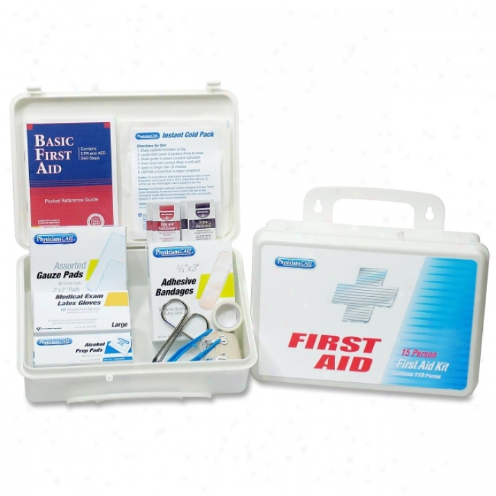 Physicianscare 131-piece First Aid Kit