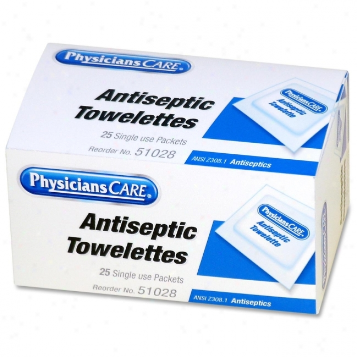 Physiciznscare First Aid Antiseptic Towelette Refill