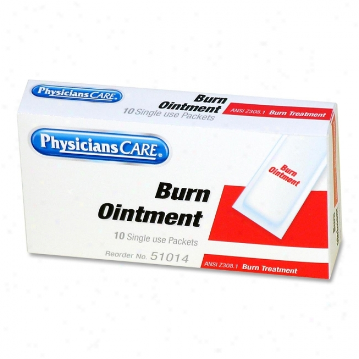 Physicianscare First Succor Kit Individual Burn Choice part Refill